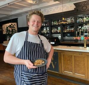 Greg Weaver Chef William IV Pub