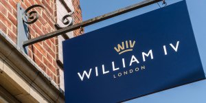william IV london pub sign