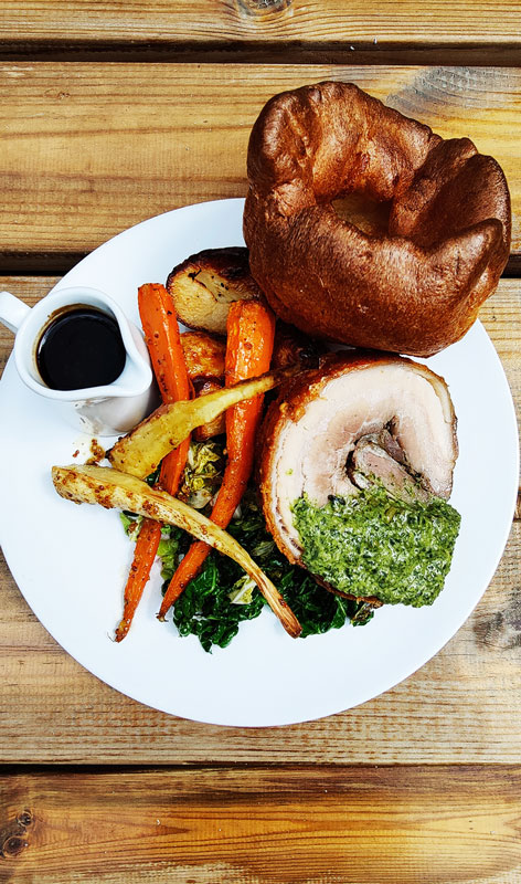 William IV pub-Sunday roast