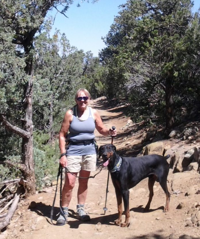 Muriel and Jager on South Boundary 7-14-16