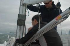 Fixing the boom vang