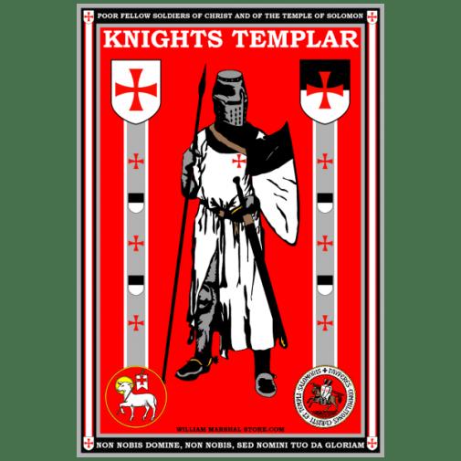knights-templar-posing-poster