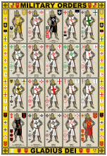 Holy Orders Knights & Symbols Poster - William Marshal Store