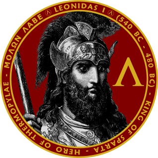 Leonidas I - Portrait Seal_William Marshal Store