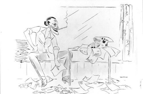 Screenwriter Terry Robinson, Flying M.E., 1948