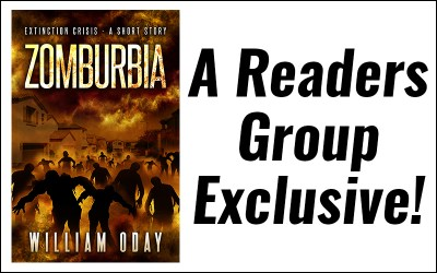 Zomburbia is off to the Readers Group!