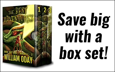 The Best Adventures Box Set One – Books 1 – 3!