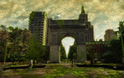 Art of Washington Square Park, NYC – nature takes over!