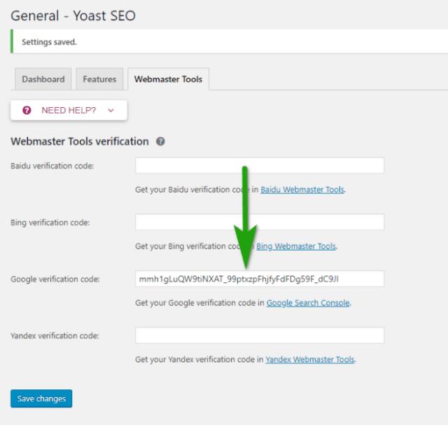 Google-verification-code-Yoast-SEO-williamreview.com