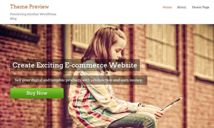 free ecommerce wordpress themes salejunction