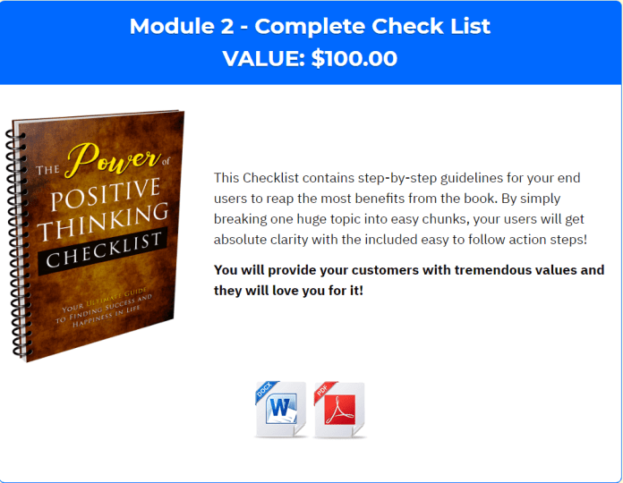 power-of-positive-thinking-plr-module-2