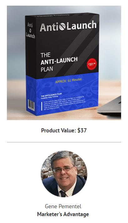 Anti-Launch Plan (PLR)