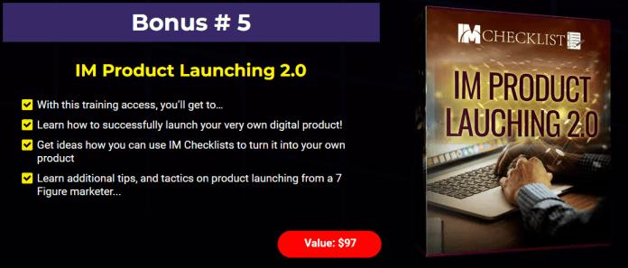 IM Checklist V29 Review Bonus 5