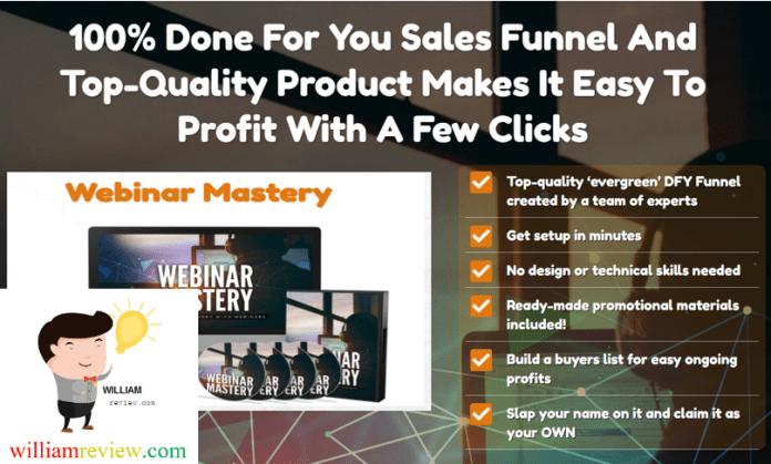 Webinar Mastery PLR Review