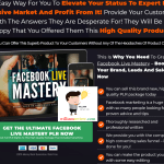 Facebook Live Mastery PLR Review