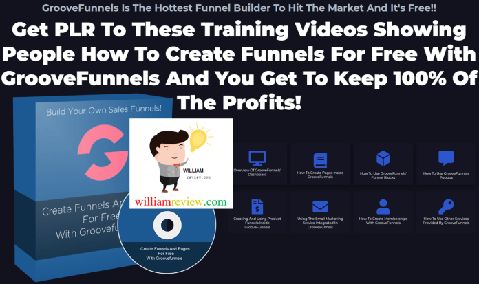 GrooveFunnels Video Tutorials PLR Review