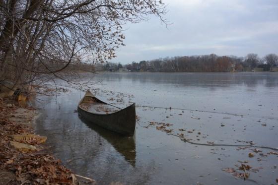 Frozen Canoe