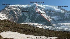 Liberty Ridge Map