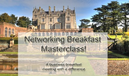 breakfast networking masterclass image for promotion