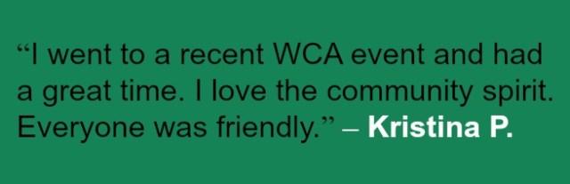 WCA Volunteer