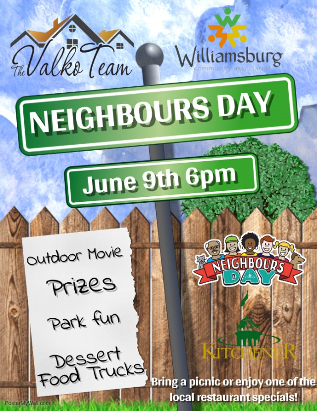 Neighbours Day Draft