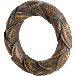 Sngl Leaf Scarf Ring  - Brandywine