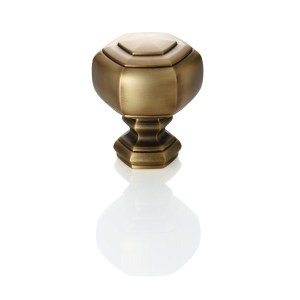 "1-3/8"" Grotto Finial - Gilded Bronze"