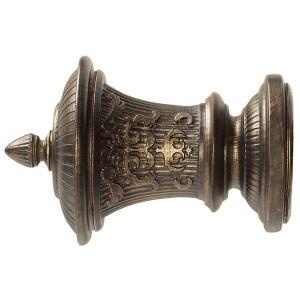"""2"""" Renaissance Finial - Bronze"""