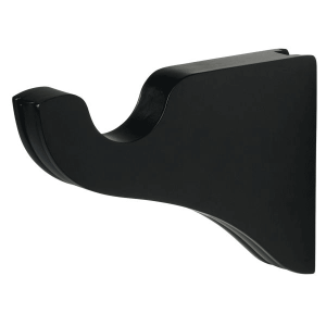 "1-3/8"" Bracket 3-1/2"" Return - Black"
