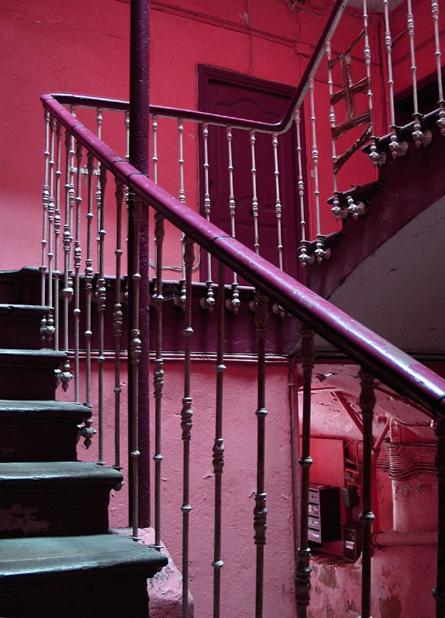 How to make stairs safer for the elderly, helping elderly with stairs, and stair safety.