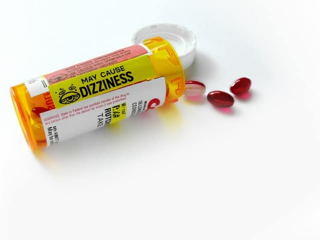 Image of a pill bottle for an article about seniors and their immune system.