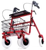Image of a walker for an article about finding the right upright walker for adults.