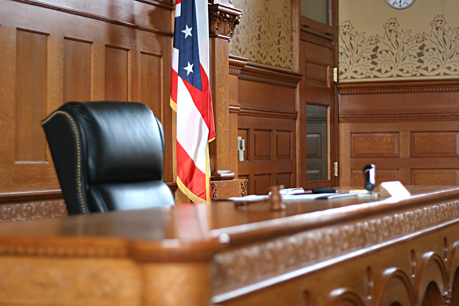 Courtroom-Bench