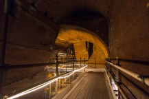 Inside the South or Corner Tunnel