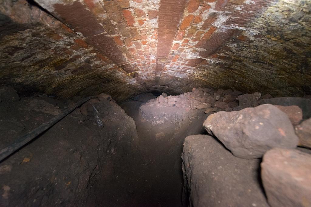 Inside the Triple Decker tunnel