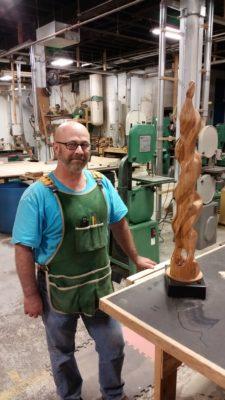 Rick Brown Carving