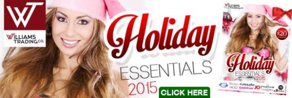 Holiday Essentials Catalog Williams Trading Co