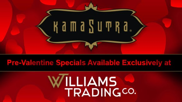 Williams Trading Valentine's Day Offers