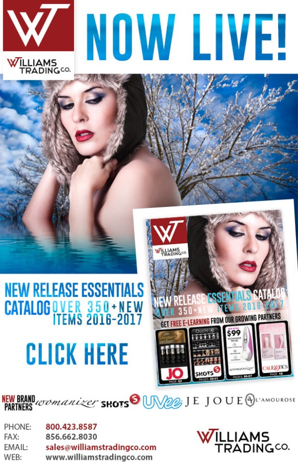 New Release Catalog from Williams Trading Co