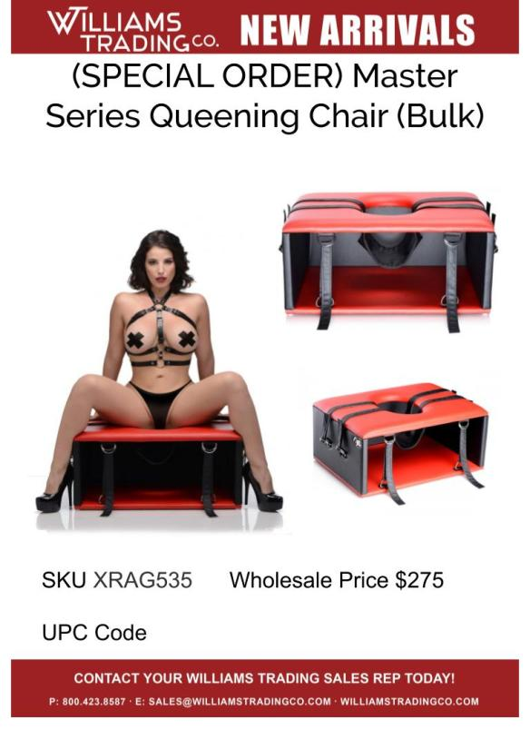 New Arrival_XR Queening Chair (Corrected Cowboy!)