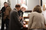 William S. WIlson, March 26, 2015, Sari Dienes exhibition opening at the Rare Gallery, NYC