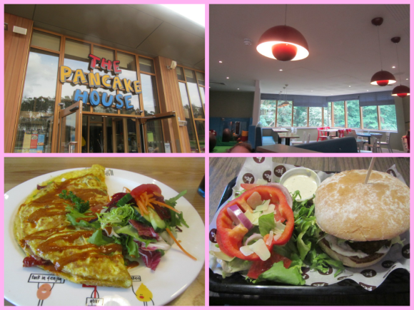 Eating out at Woburn Forest