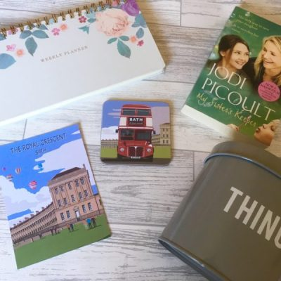 5 Under 5 Pounds in March. Planners, books and cute things from Bath
