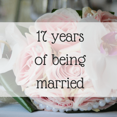 17 years of being married