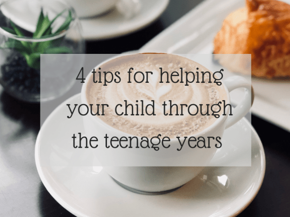 4 tips for helping your child through the teenage years