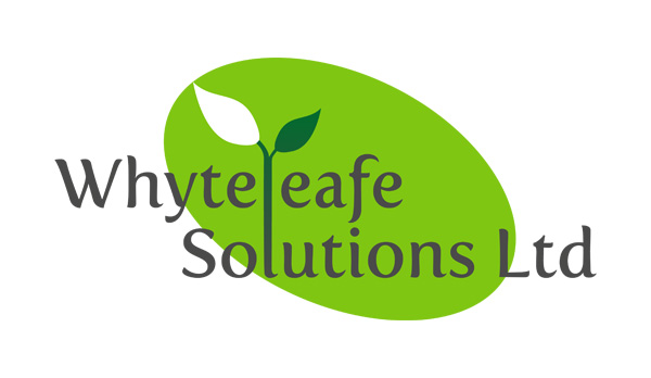 Logo design for Whyteleafe Solutions Ltd - Adobe Illustrator