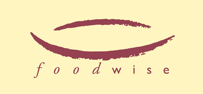 Logo design for Foodwise food industry consultancy - brush calligraphy and QuarkXpress