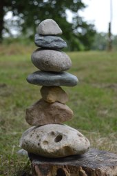 Stone balancing was available at any time.
