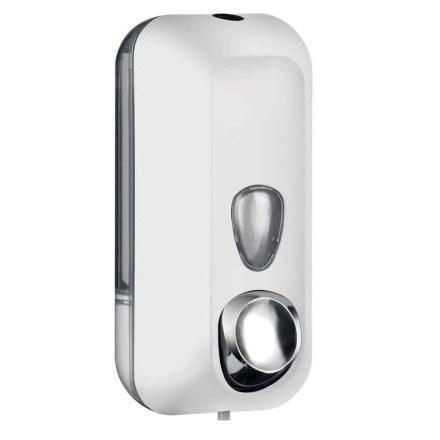 Marplast ncha dispenser A71401BL - Professional quality - White na Piel - 550 ml - Adabara ọha na eze