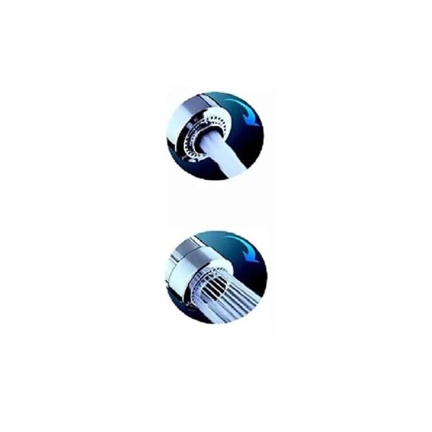 WillieJan Knijp handdouche A1001Q – Verstelbare Straal met 2 standen - Verchroomd ABS